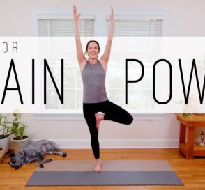 12 Min Yoga For Brain Power Yoga With Adriene