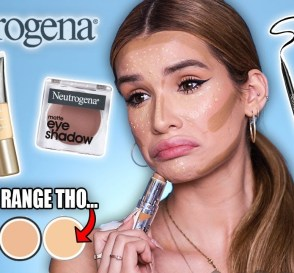 FULL FACE testing NEUTROGENA Makeup is it ANY Good