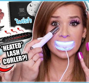 Testing WEIRD af WISH GADGETS Lip Plumping Vacuum Eye Massager MORE