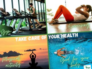 physical activity and exercising