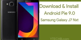 How to Install Samsung Galaxy J7 Nxt Android Pie Update [One