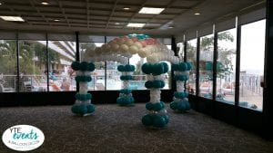 Balloon canopy for event