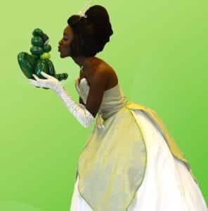 Princess Tiana with Frog