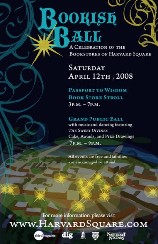 Harvard Square has something like a zillion bookstores to celebrate