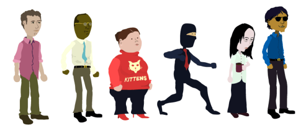 flukeball-characters