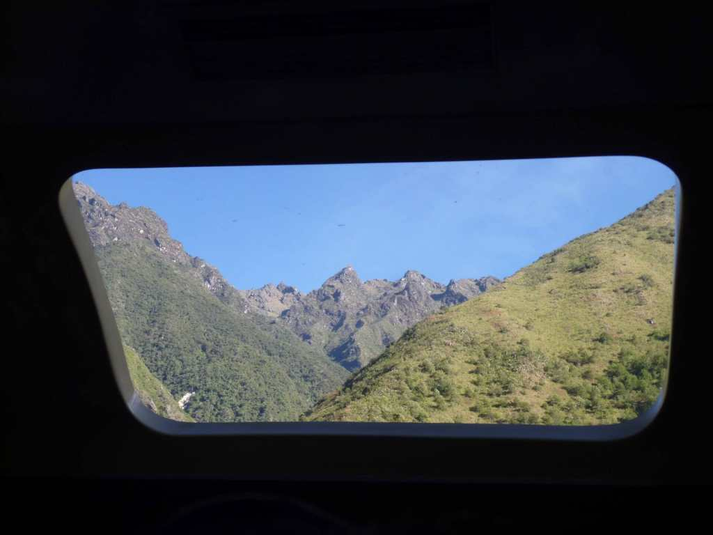 Machu Picchu Train, views
