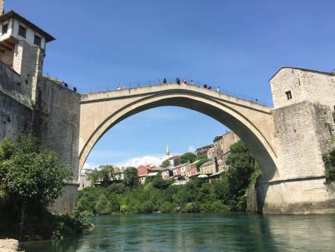 Old Bridge, Mostar, river view