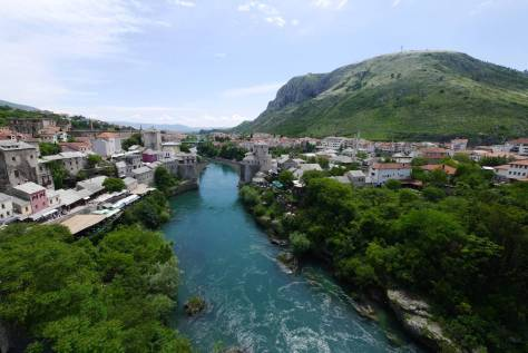 Mostar, Old Bridge, Neretva River