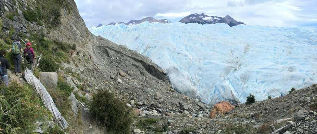 Perito Moreno Big Ice trail Panorama