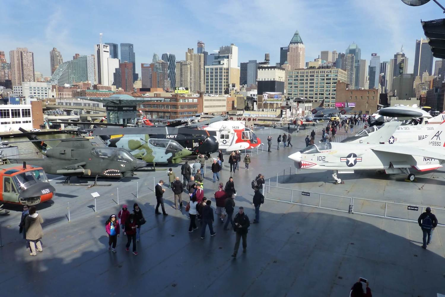Intrepid flight deck