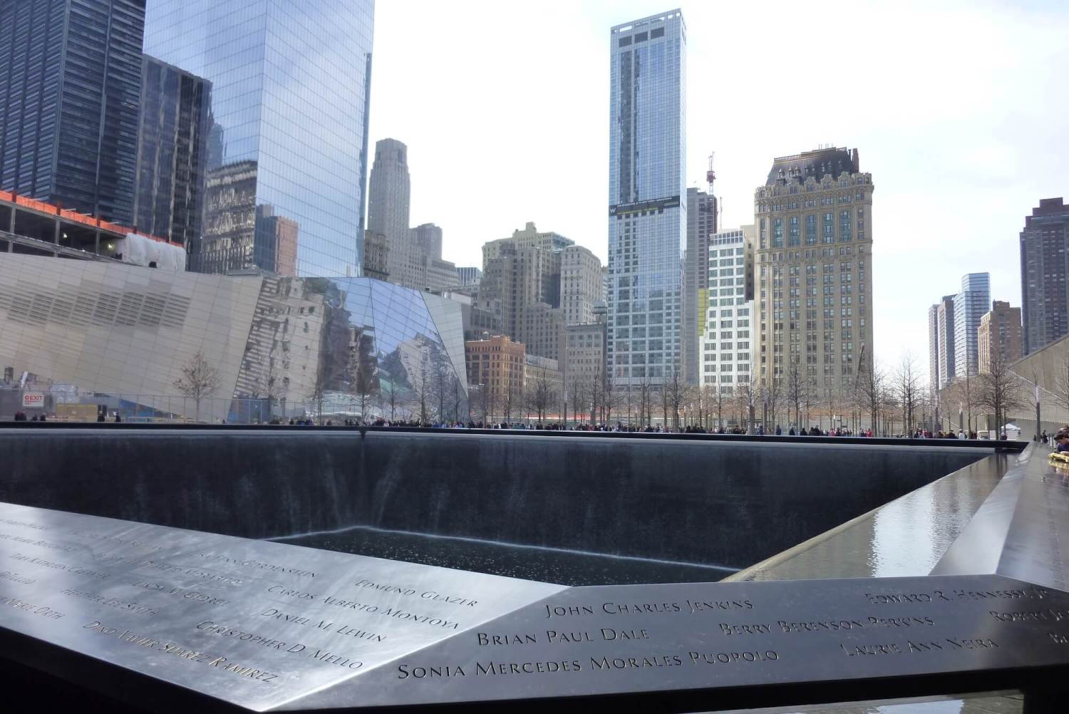 911 memorial, world trade centre memorial