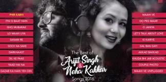 Arijit Singh & Neha Kakkar