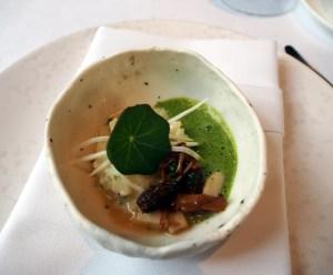 risotto of celeriac & wild mushrooms