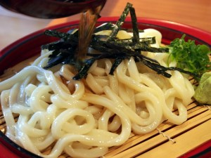 cold udon with sauce | Pham Sushi | Yvanne Teo