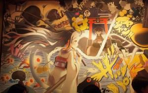 manga wall at shochulounge