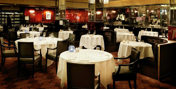 Savoy Grill - interior