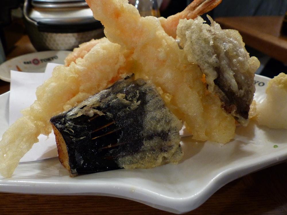Veg Tempura - Eat Tokyo | Yvanne Teo