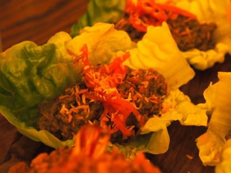 beef rendang mince | Laksa Riesling Supper | Yvanne Teo