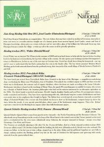 riesling wines info | Yvanne Teo