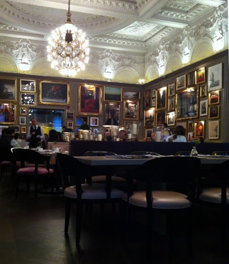 interior at Berners Tavern | Yvanne Teo
