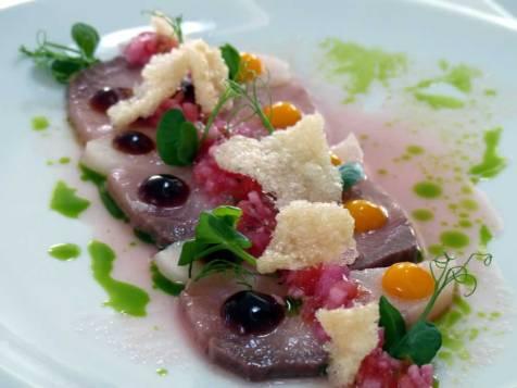 hamachi sashimi ceviche at The Magazine Restaurant | ytTastes | Yvanne Teo