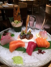 sashimi platter at Roka Aldwych | ytTastes | Yvanne Teo