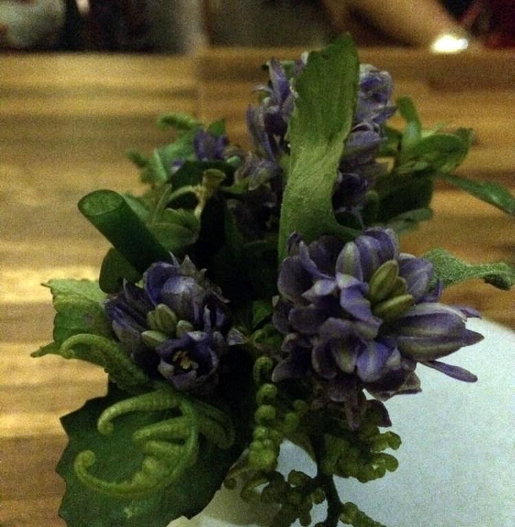 salad bouquet Locavore, Ubud, Bali | ytTastes | Yvanne Teo