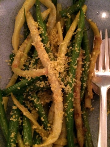 yellow & green beans at Portland Restaurant | ytTastes | Yvanne Teo