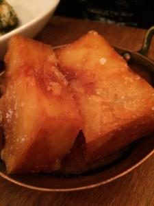 "Cripsy potato millefeuille ""chips"" at Portland Restaurant | ytTastes | Yvanne Teo"