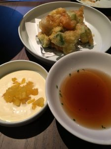 tempura - prawn & avocado
