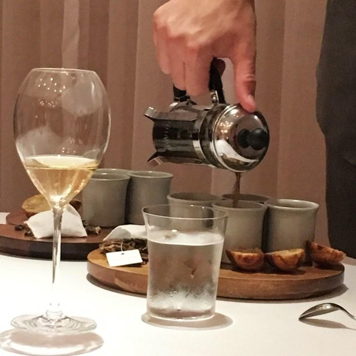 Mushroom Tea | Odette Singapore
