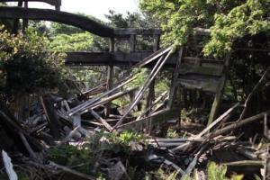 野崎島の廃墟