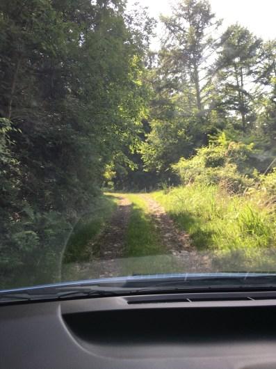 幅員狭すぎ通りにくい道