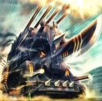【驀進装甲(ばくしんそうこう)ライノセイバー考察】攻撃を終えると帰っていくサイ型装甲車!相手ターンは別のシンクロモンスターで迎え撃て!
