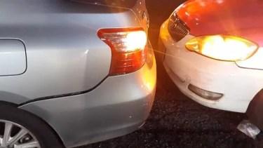 タイで交通事故