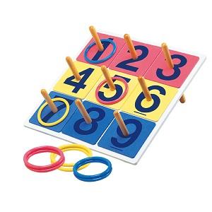 輪投げビンゴゲーム