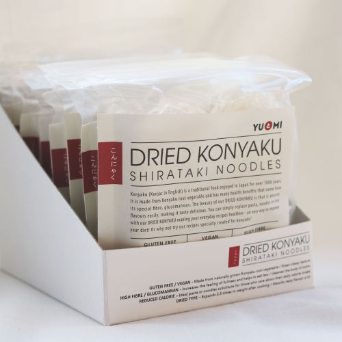 Dried Konyaku Noodles box