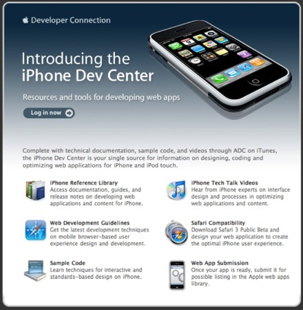 iPhone Dev Center