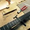 製作中オリジナルアコースティックギター(OMタイプ)進行状況
