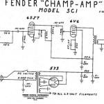 使いやすい最強接着剤? 〜 Fender Champ 5f1 5C1 違い