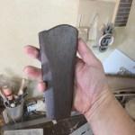 フルアコの様なセミアコの様なアーチトップギター製作 トップ材の下ごしらえと木製テールピース製作