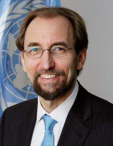 Zeid Ra'ad Al Hussein, United Nations High Commissioner for Human Rights