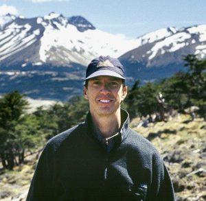 Humboldt State University Professor Steve Martin in Patagonia.