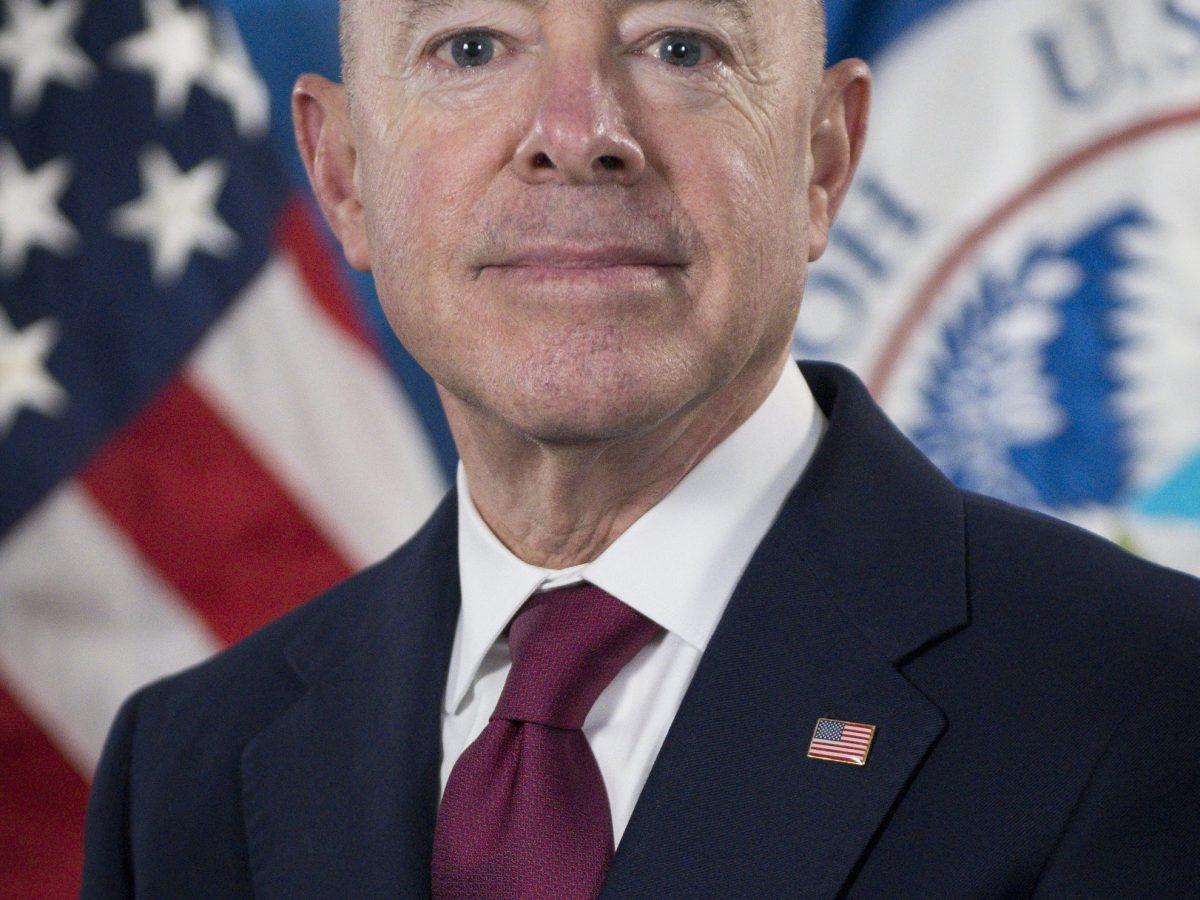 DHS Secretary Alejandro Mayorkas, Photo by Zachary Hupp