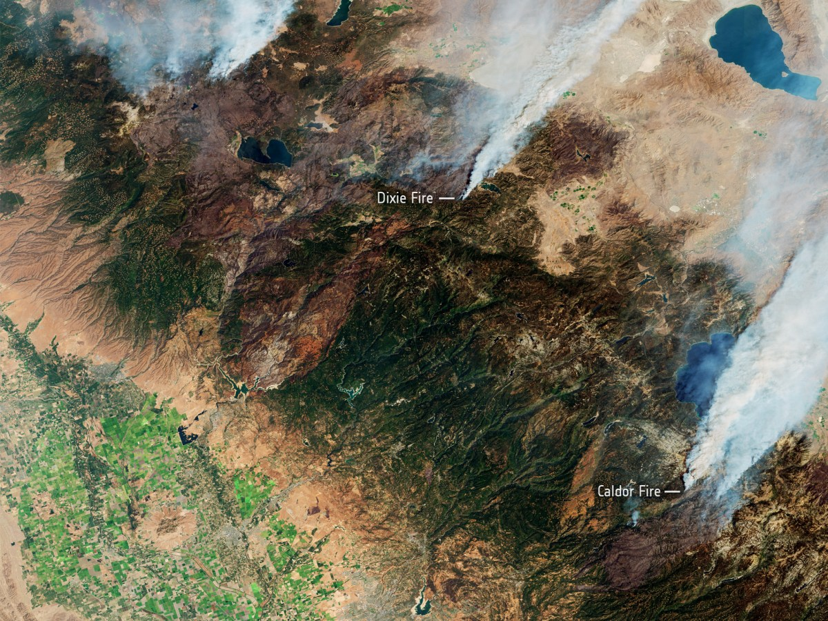While wildfires are a natural part of California's landscape, a severe drought, coupled with extreme temperatures, have sustained several major fires for much of August