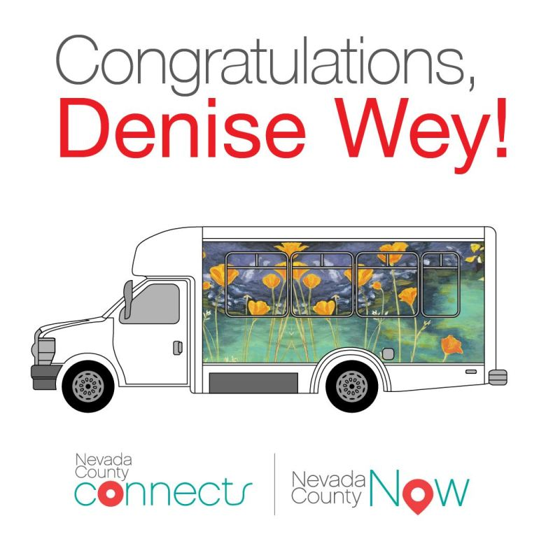 Nevada County Bus Art Winner