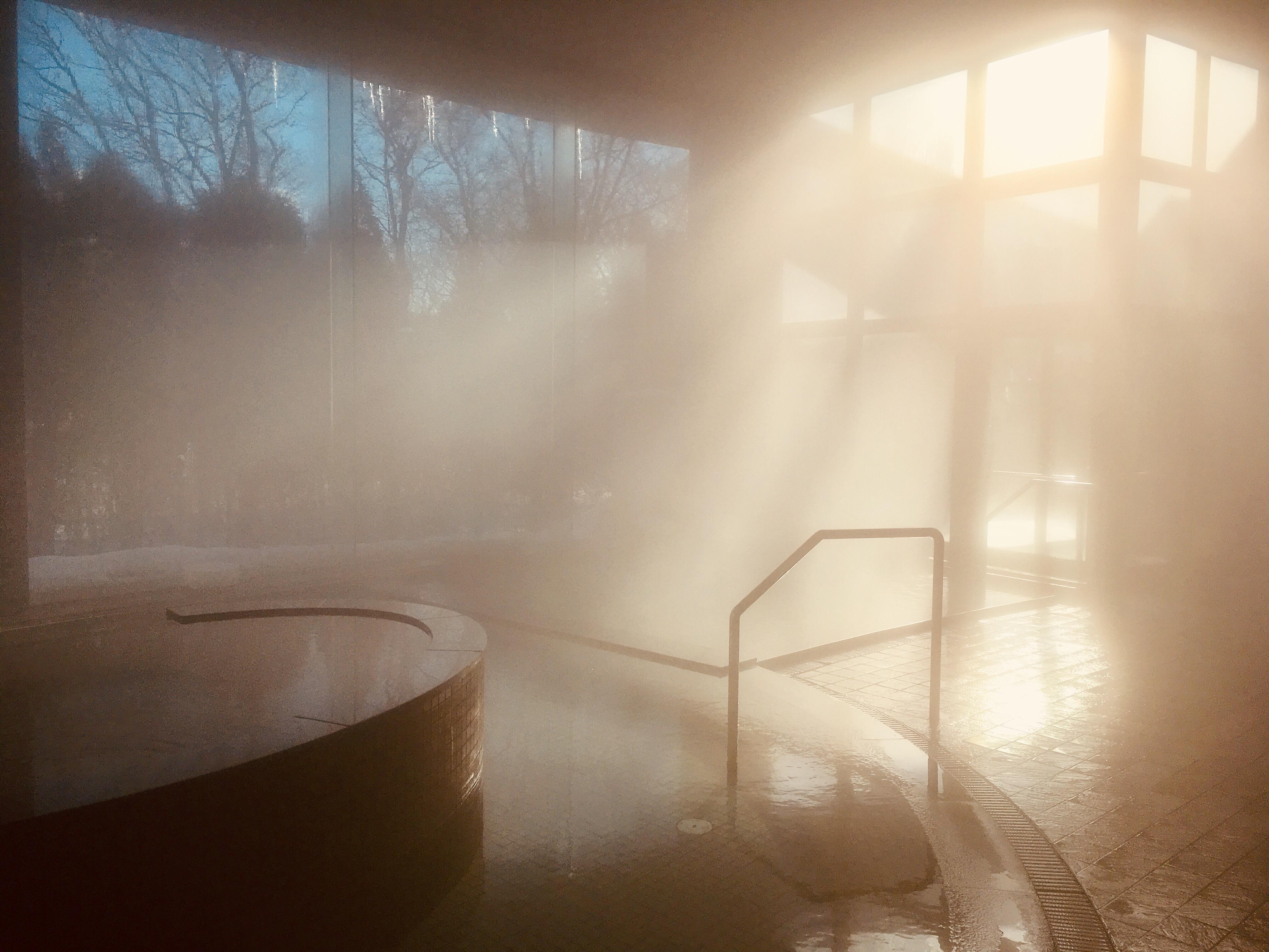 寒波来てますが、やっぱり♨️温泉いいですよ〜