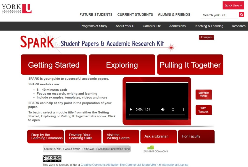Remote Learning 101: York's Top Online Library Services #YUBlog