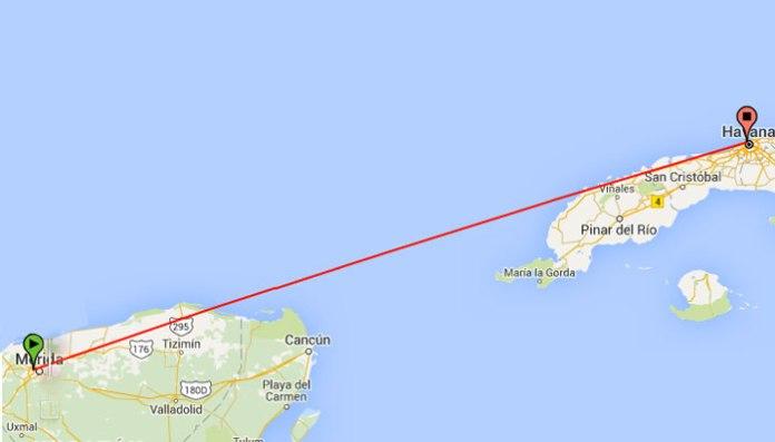 Resultado de imagen para Merida-Havana route