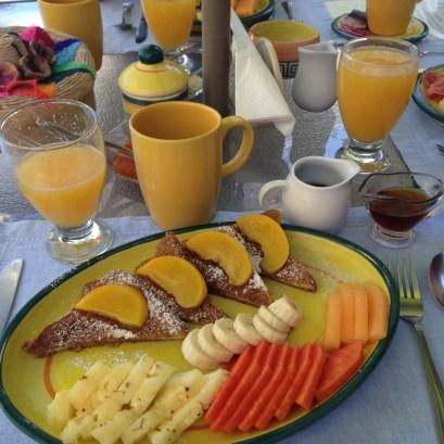 Breakfast at Rio Bec Dreams